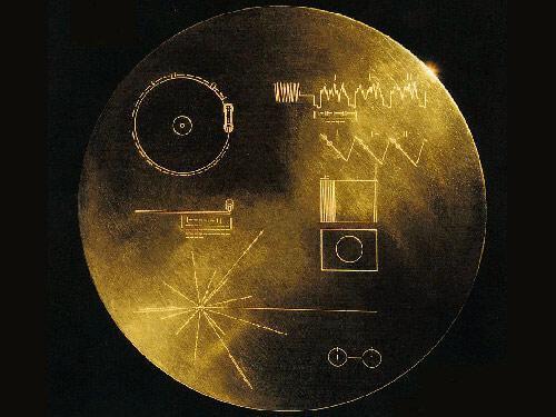 金屬訊息圓盤