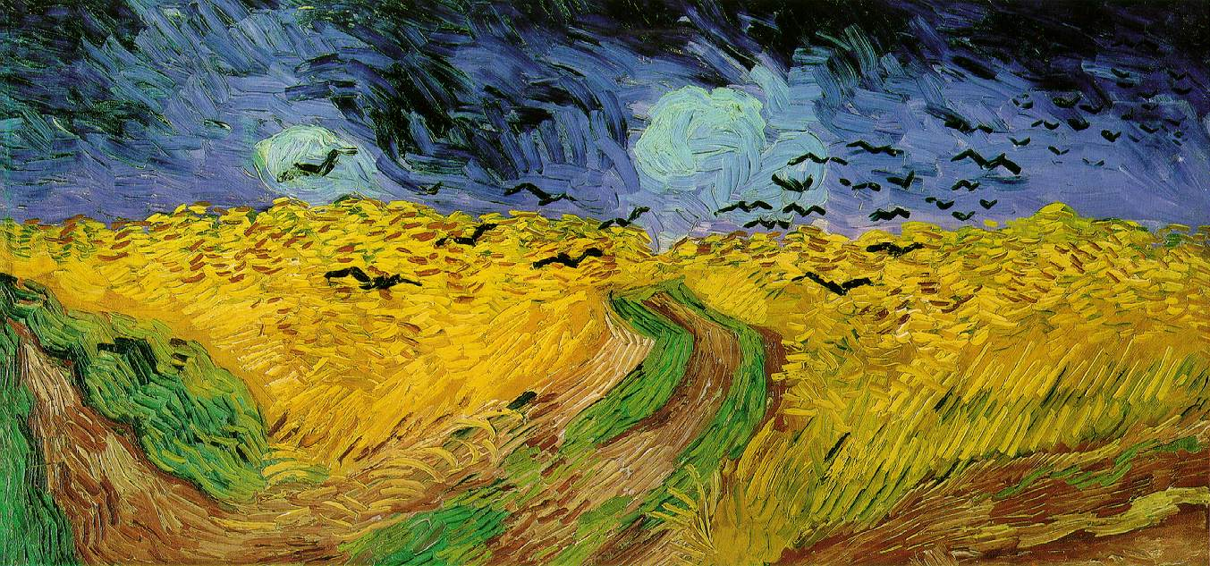 Vincent_van_Gogh_Wheat Field with Crows(1890)