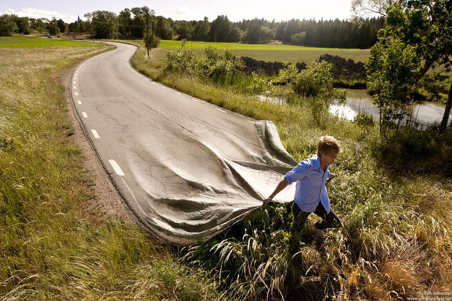 road(by Erik Johansson)