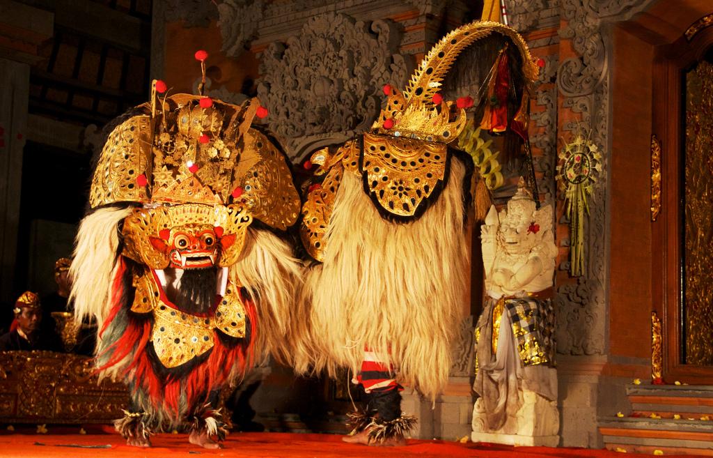 Barong dance. Ubud, Bali Indonesia 2010