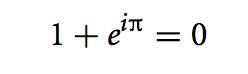 Eulers-identity