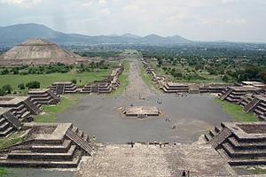 特奧蒂瓦坎(Teotihuacan)。圖片來源:維基百科。