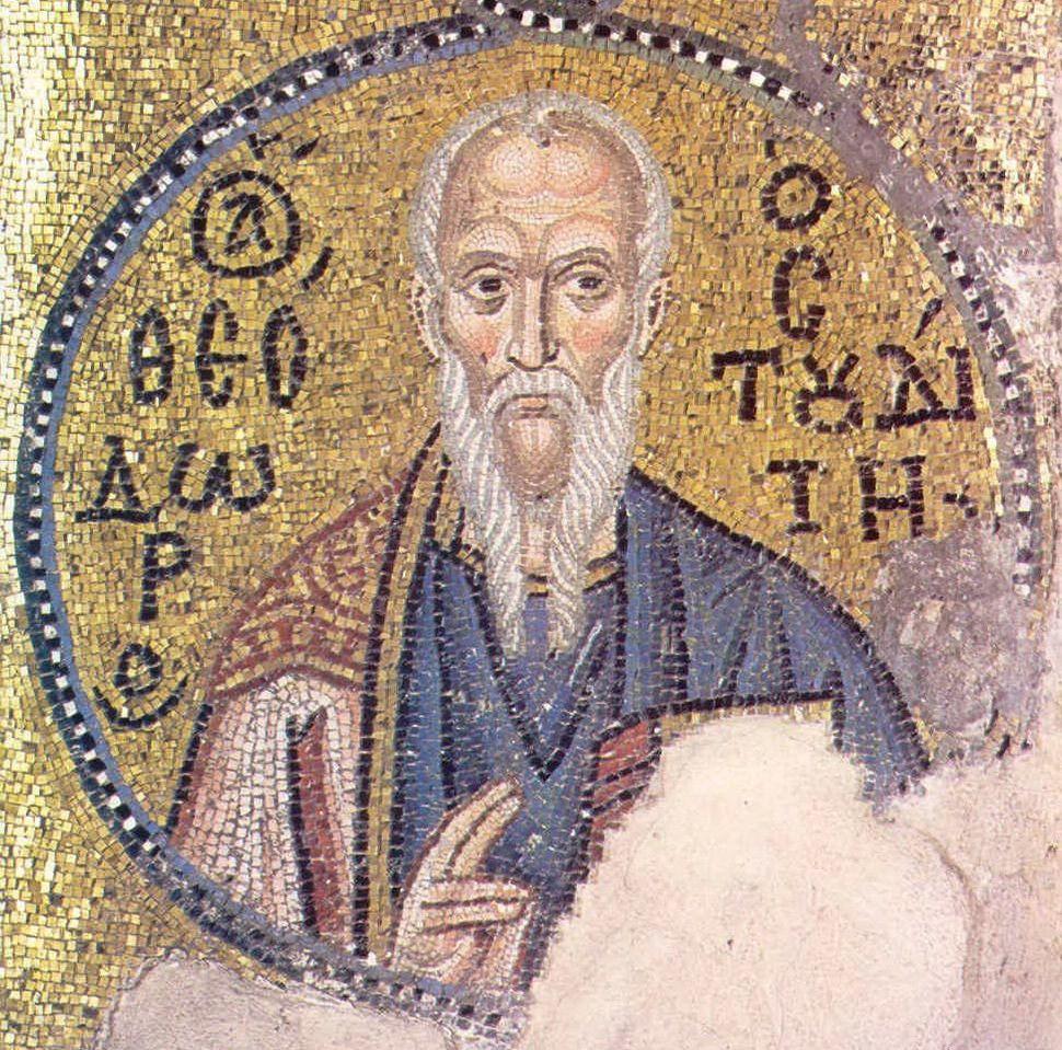 Theodore the Studite。圖片來源:wiki
