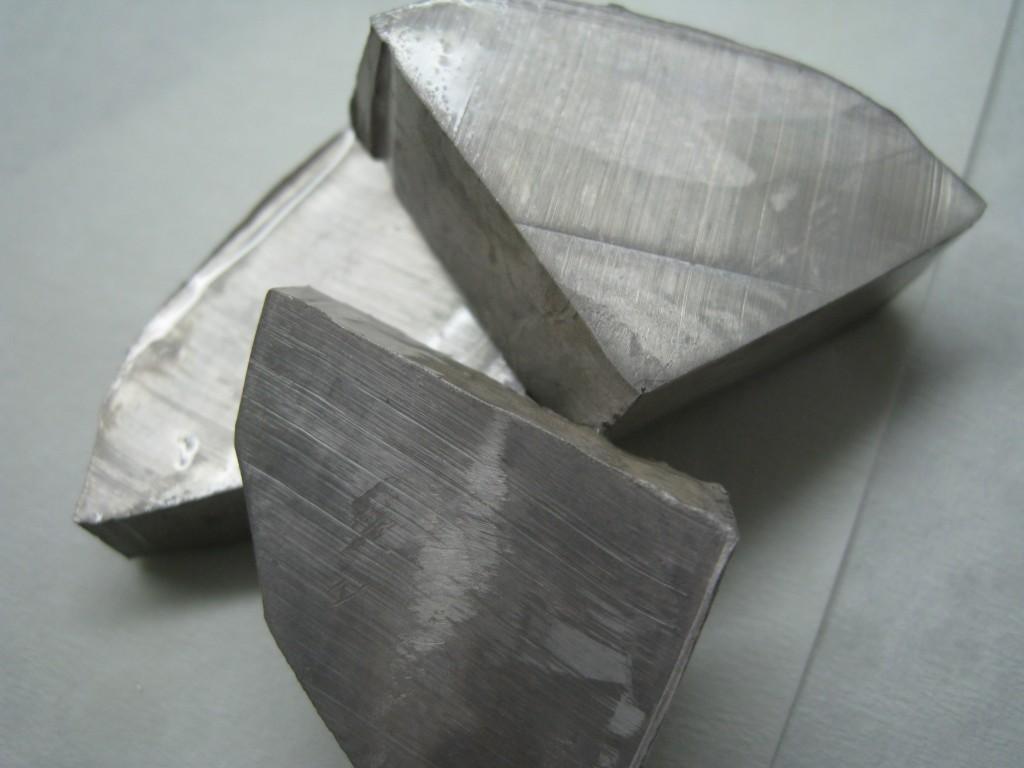 鈉(soidum,元素符號Na)。圖片來源:wiki