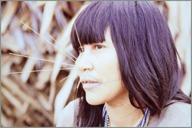 Matsés 族人。圖片來源:wiki