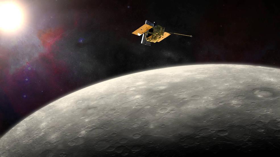 【天文新知】水星探測器「信使號」的最後一刻