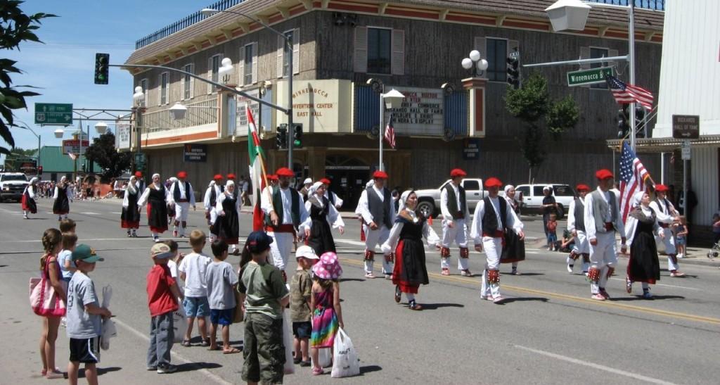巴斯克慶典。圖片來源:wiki