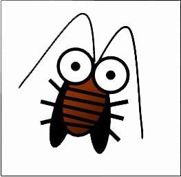 這張Q版蟑螂就沒這麼嚇人了吧.......