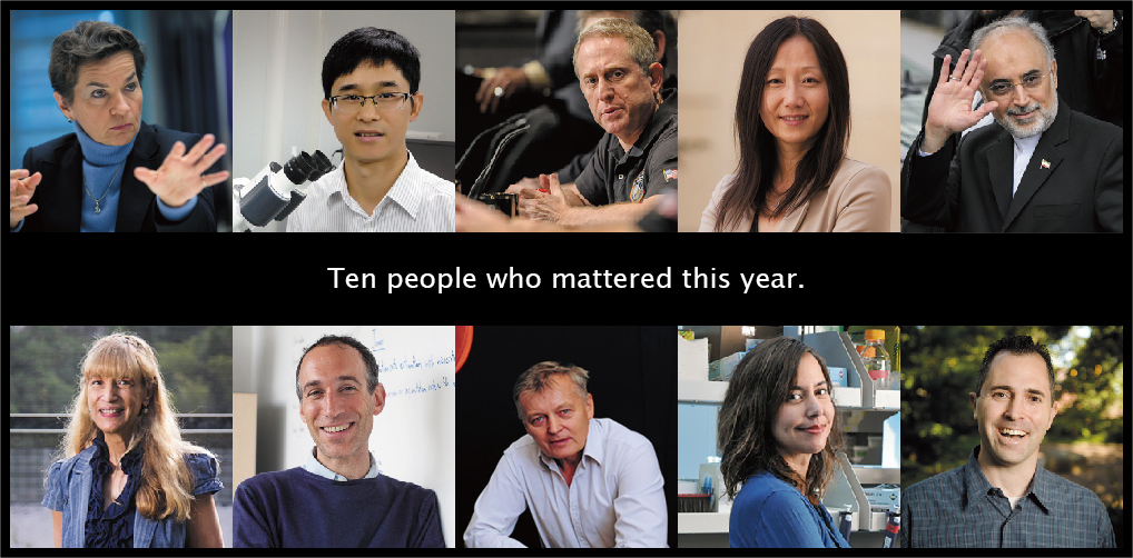 Ten people who mattered this year-01