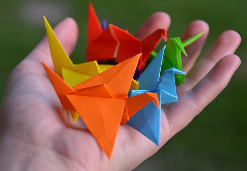 摺紙:摺痕中的數學
