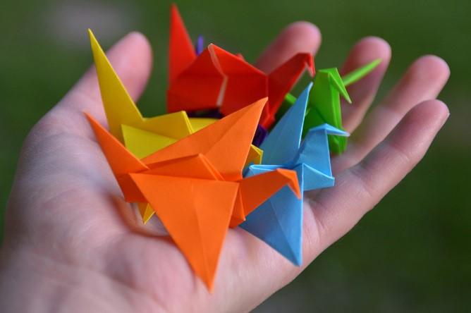 摺紙看似為藝術,但其實與數學息息相關。照片由Mina提供。Mina, CC BY-NC-ND