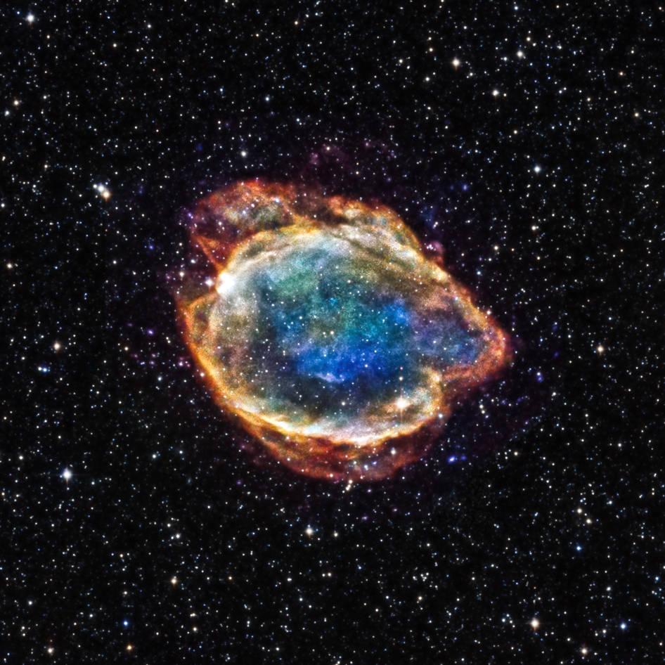 G299 Ia 超新星殘骸 圖片來源:維基百科