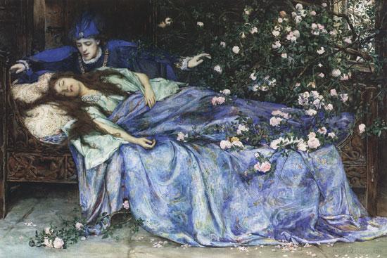 睡美人。圖片來源:維基百科