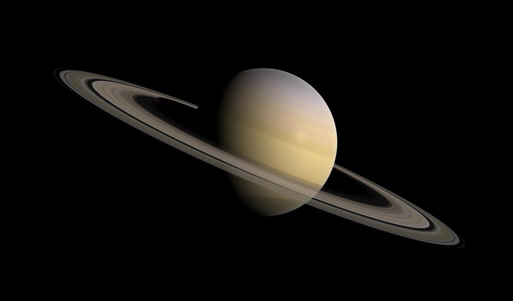 天文學家觀測到的「土星環」也是最有名的微粒電漿,當光線照到這些塵埃微粒,經散射後就會讓我們看到「土星環」。©bark@flickr.com