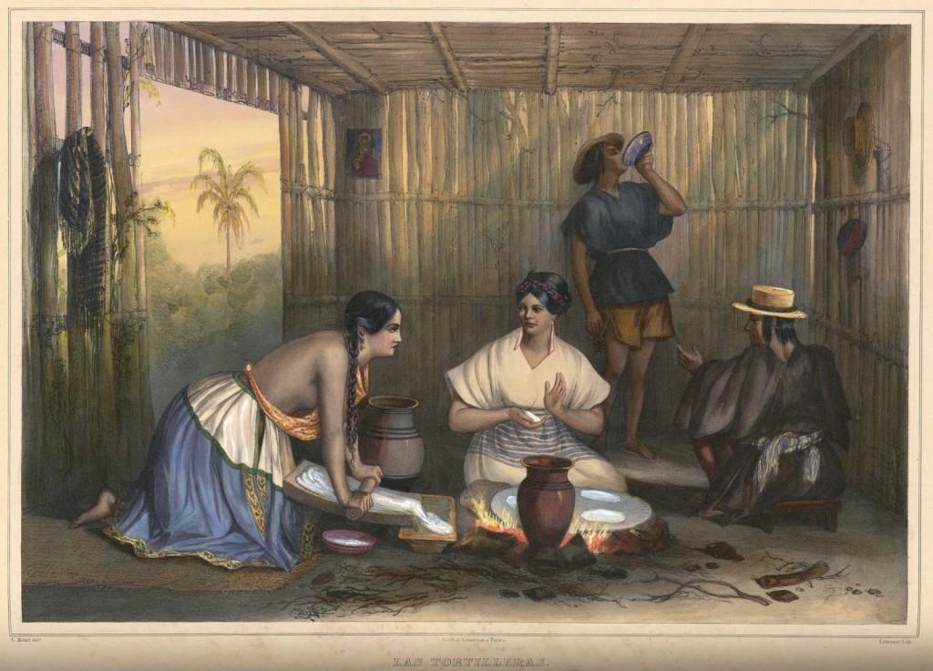 玉米的鹼法烹製。圖片來源:Wikipedia