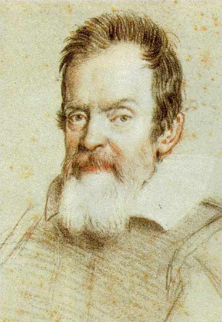 伽利略像(圖像來源:維基百科)