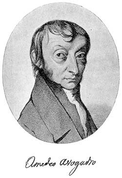亞佛加厥(Amadeo Avogadro) Photo: Wikipedia commons