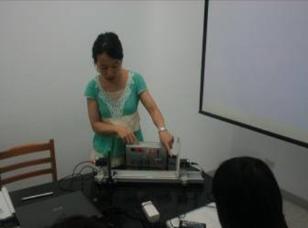【臺灣師範大學】99-B2-1 跨領域『蛋白質晶片』專題學習-用原子力顯微鏡分析蛋白質結構