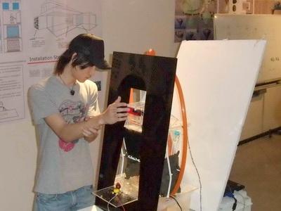 【跨領域新聞】跨領域學程正夯 藝術結合機械設計增添生活互動新樂趣